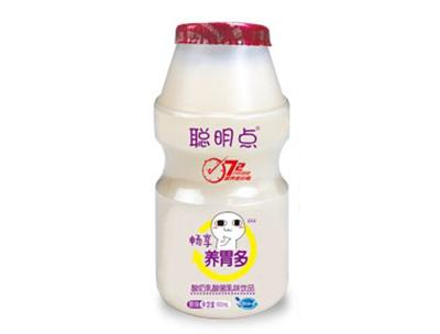 聪明点畅享养胃多原味酸奶乳酸菌乳味饮品100ml