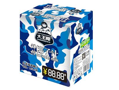 大王椰鲜榨椰汁饮料1.25L×6瓶