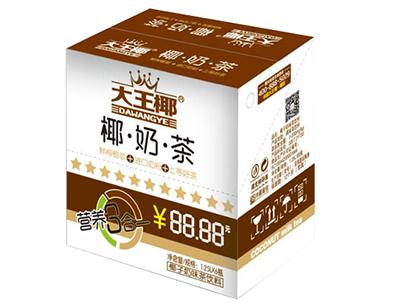 大王椰椰奶茶饮料1.25L×6瓶