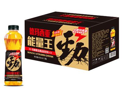 德玛西亚能量王玛咖维生素运动饮料600ml×15瓶