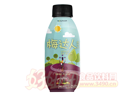 MaILIFE迈芙梅达人酸梅汤复合果汁饮料420ml