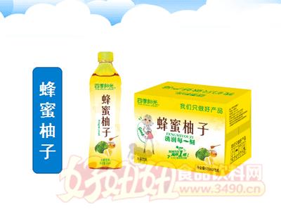 四季阳光 蜂蜜柚子茶饮料 500ml×15瓶
