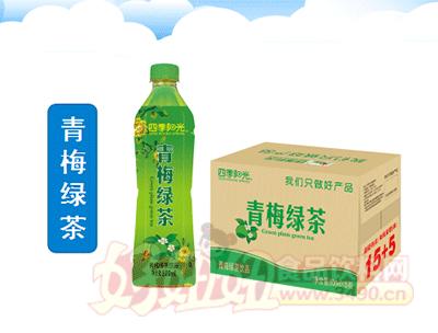 四季阳光 青梅绿茶 500ml×15瓶