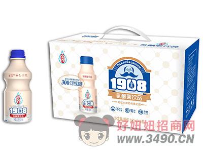 宜养1908瓶乳酸菌lehu国际app下载330ml×8瓶礼盒