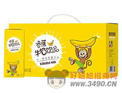 宜养香蕉牛奶lehu国际app下载250ml×10盒