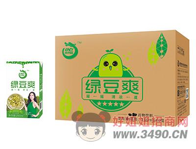澳利龙绿豆爽谷物饮料250ml×60盒