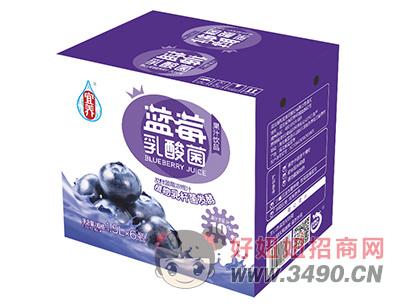 宜养蓝莓乳酸菌果汁lehu国际app下载1.5L×6瓶