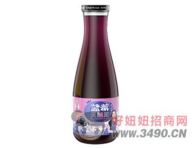 宜养蓝莓乳酸菌果汁lehu国际app下载1.5L