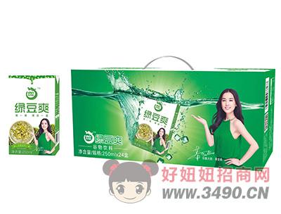 澳利龙绿豆爽谷物饮料250ml×24盒