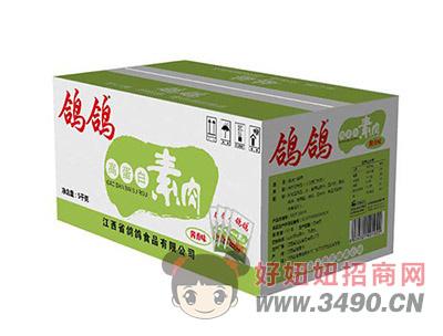 鸽鸽高蛋白素肉豆干豆制品休闲食品麻辣小食品箱装