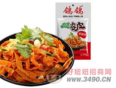 鸽鸽魔芋凉皮香辣味休闲食品小食品麻辣食品休闲食品袋装50g