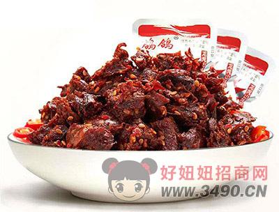 鸽鸽牛肉干肉制品肉感肉脯麻辣小食品袋装散称