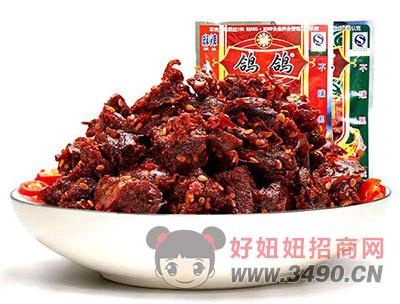 鸽鸽牛肉干肉制品肉干肉脯麻辣小食品袋装50g