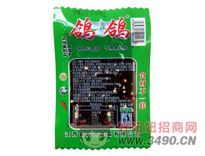鸽鸽豆角干蒜香味1元调味面制品28g