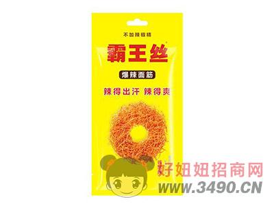 玉峰霸王丝爆辣面筋诱惑辣麻辣小食品65g