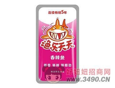 玉峰渔乐天天香辣鱼仔鱼干鱼丝麻辣小食品12g