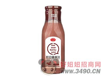 宇源堂红豆薏米汁饮料910ml