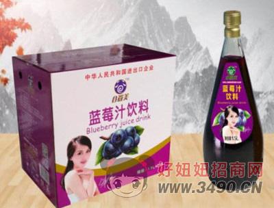 谷尚美蓝莓汁饮料1.5LX6