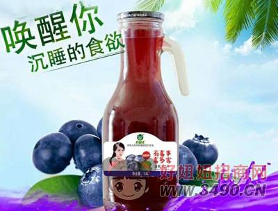 谷尚美蓝莓汁饮料1.5L瓶装