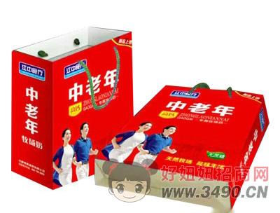 江中食疗中老年牧场奶(袋)