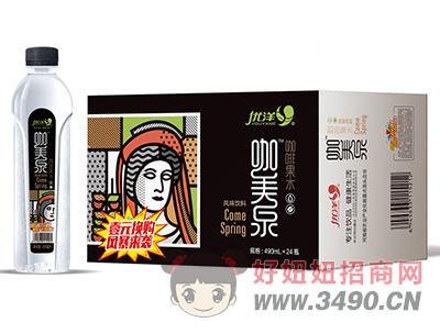 优洋咖美泉咖啡果水风味饮料490ml×24瓶箱装