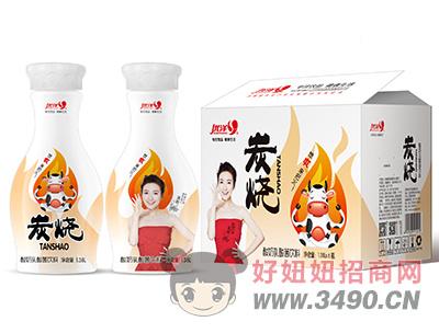 优洋炭烧酸奶乳酸菌饮料1.38L×6瓶白箱