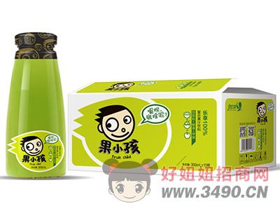 优洋果小孩猕猴桃+椰果+苹果复合果汁饮料300ml×15瓶