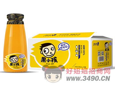 优洋果小孩芒果+椰果+苹果复合果汁饮料300ml×15瓶