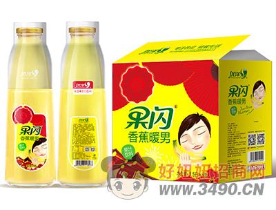 优洋果闪香蕉暖男果汁饮料1.5L×6瓶