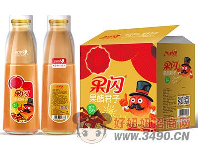 优洋果闪果醋君子果汁饮料1.5L×6瓶