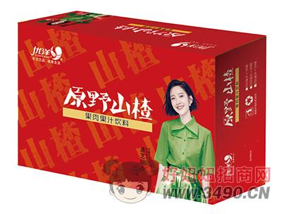 优洋原野山楂果肉果汁饮料250ml箱装