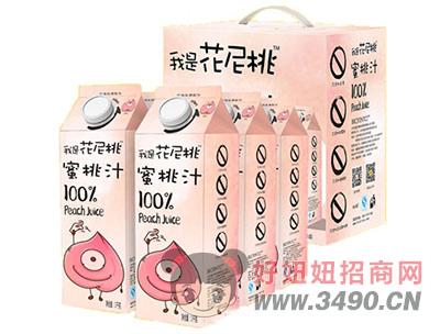 我是花尼桃蜜桃汁1Lx6盒