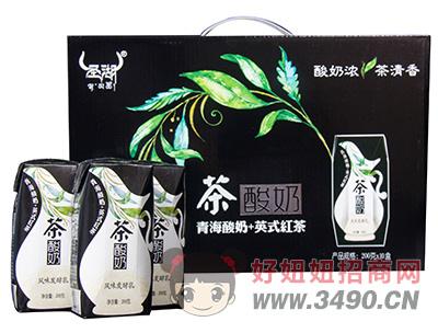 圣湖茶酸奶风味发酵乳200g×10盒