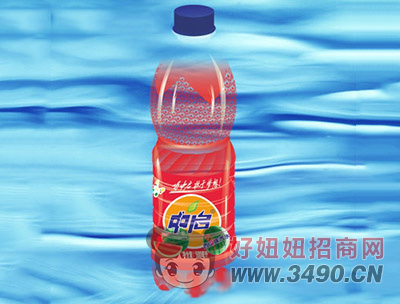 中启西瓜味汽水500ml