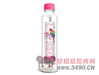 淼雨蜜桃苏打果味饮料420ml