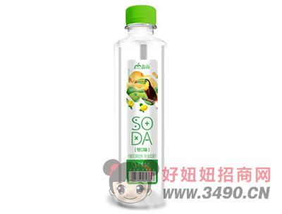 淼雨柠檬苏打果味饮料420ml
