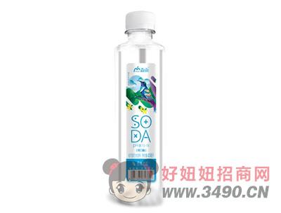 淼雨原味苏打水饮料420ml