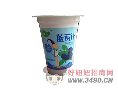 燕塞炫久蓝莓汁350ml