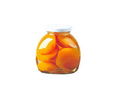 金维黄桃玻璃大罐