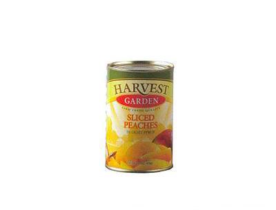 金维黄桃黄色罐头