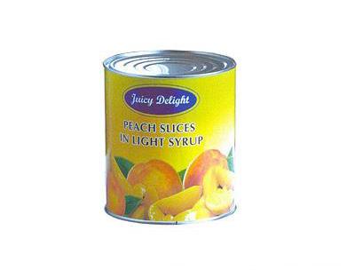 金维黄桃水果罐头