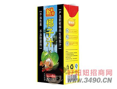 椰相思鲜榨椰子汁饮料椰汁植物蛋白饮料1L