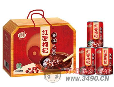 维维红枣枸杞养生八宝粥320g×8罐