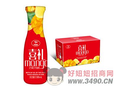 喜礼芒果汁饮料330ml