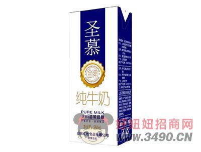 圣慕金牌纯牛奶250ml