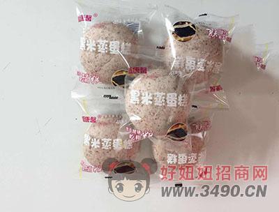 盛康馨黑米蒸蛋糕(袋装)
