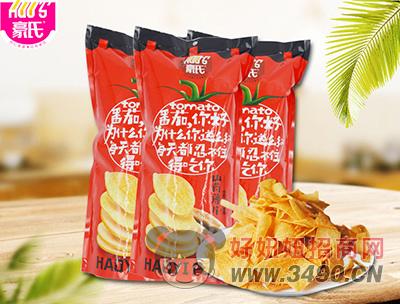 豪氏山药薄片番茄味185g