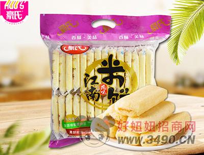 豪氏江南�L味米�奶油味500g