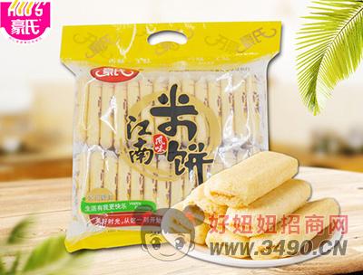 豪氏江南风味米饼蛋黄味500g