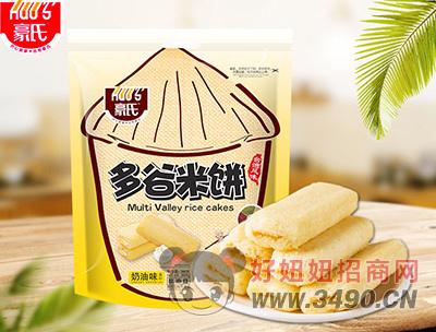 豪氏多谷米饼奶油味388g